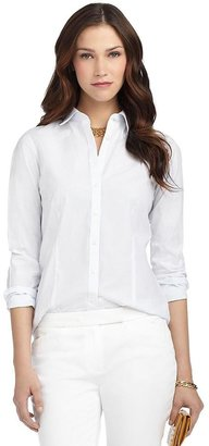Brooks Brothers Non-Iron Tailored Fit Pinstripe Dress Shirt