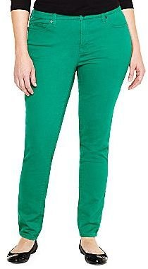 JCPenney jcpTM Sophie Perfect Skinny Jeans-Plus