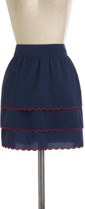 Tulle Gal in Scallops Skirt