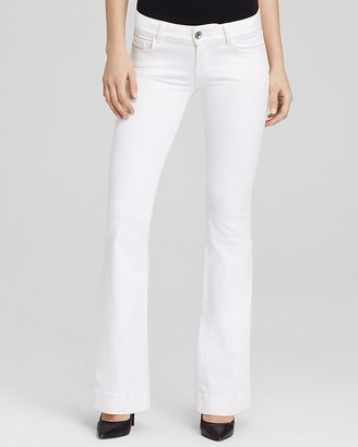 J Brand Jeans - Love Story Flare in Blanc
