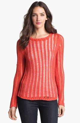 Milly 'Katelyn' Ladder Knit Sweater