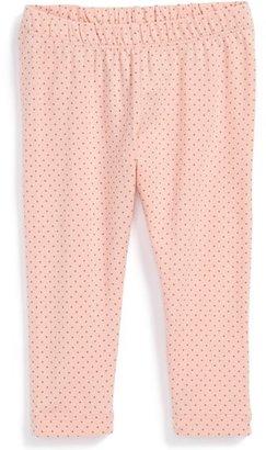 Tea Collection Polka Dot Leggings (Baby Girls)