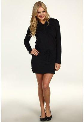 Mountain Hardwear Hooded Butter Dress (Black) - Apparel