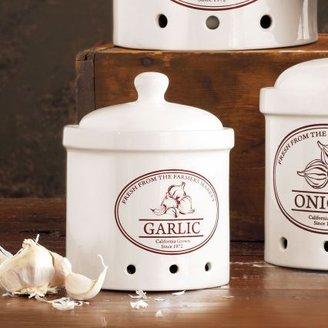 Sur La Table Ceramic Garlic Crock