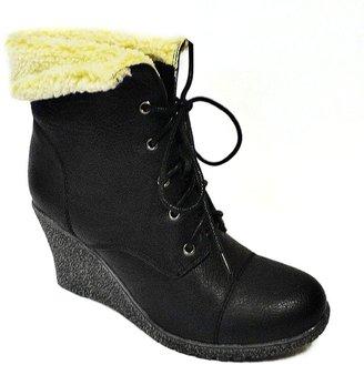 Bucco jorita wedge booties - women