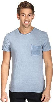 Buffalo David Bitton Nocuz Crew Neck Tee (Stanford) - Apparel