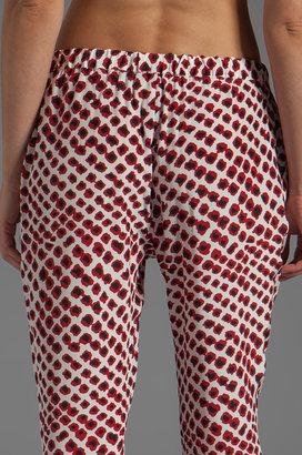 Derek Lam 10 CROSBY Drawstring Tapered Pant