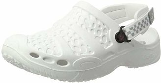 Chung Shi Unisex Adults' Dux Premium Clogs, White (Weiss/Weiss), L