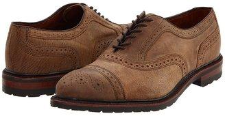 Allen Edmonds Kiowa (Brown Distressed Leather) - Footwear
