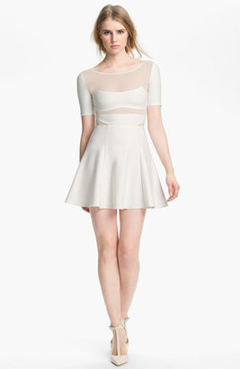 Elizabeth and James 'Selena' Sheer Inset Dress