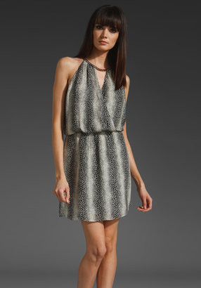 Parker Keyhole Chain Neck Dress