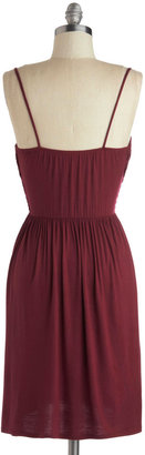 Well How Do You Do? Dress in Burgundy