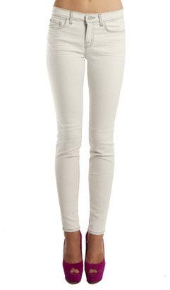 J Brand Mid Rise 11 Skinny in Polar Grey
