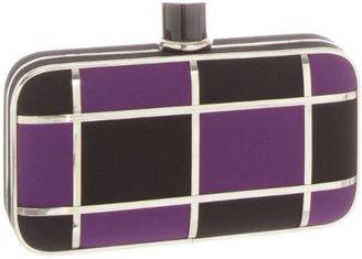 Magid 6688 Clutch,Black/Purple,One Size