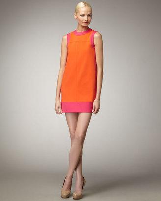 M Missoni Scuba Colorblock Dress