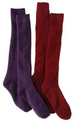 Merona Women's 2-Pack Knee High Cable Boot Socks - Assorted Colors