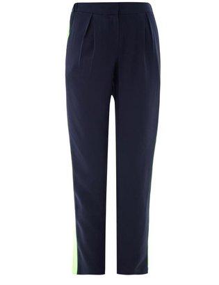 Emma Cook Contrast stripe trousers