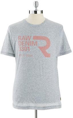 G Star Crew Neck T-Shirt