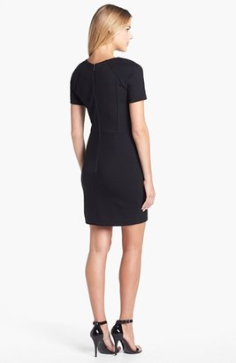 French Connection 'Olivia' Lace & Jersey Sheath Dress