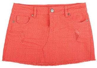 Delia's Distressed Denim Skirt