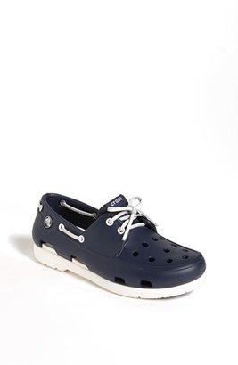 Crocs CROCSTM 'Beach Line' Boat Shoe Clog (Little Kid & Big Kid)