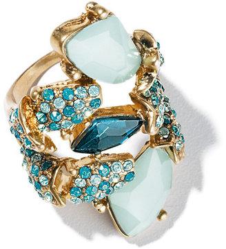 Avon Mark Wild Blue Ring