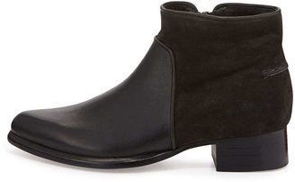 Rag and Bone Rag & Bone Aston Suede/Leather Ankle Bootie, Asphalt