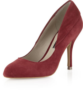 Steve Madden Steven by Distant Suede Pump, Brick