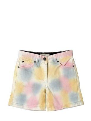 Stella McCartney 5 Pockets Denim Multicolour Shorts