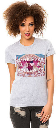 Untitled & Co The Cant Make a Hoe Tee in Black
