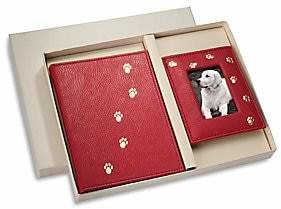 Graphic Image Leather Pet Lover's Brag Book