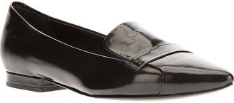 Jil Sander Navy pointed toe slipper