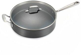 Emerilware Hard Anodized Dishwasher Safe Nonstick 5-Quart Sauté Pan with Lid