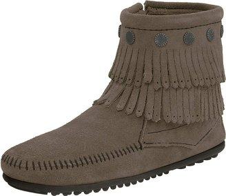 Minnetonka Women's Double Fringe Side Zip Boot