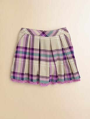 Hartstrings Toddler's & Little Girl's Plaid Skirt