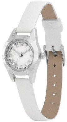 Merona Women's Leather Watch - White
