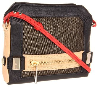 Botkier Honore Crossbody Canvas (Black) - Bags and Luggage