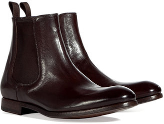 Paul Smith Shoes Brown Classic Otter Boots
