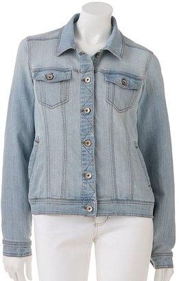Sonoma life + style ® denim jacket - petite