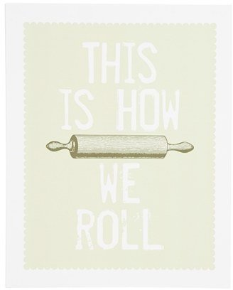 Breathless Paper Co. 'This Is How We Roll' Print
