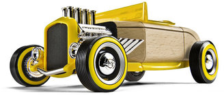Automoblox HR2 Full Size Yellow Hot Rod