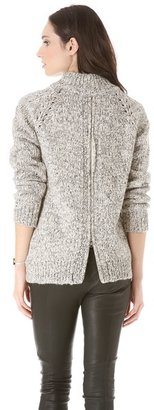 Thakoon Marled Pullover