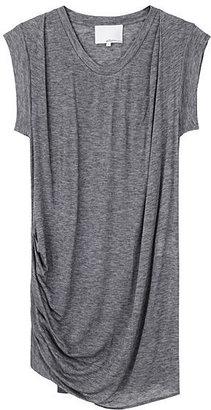 3.1 Phillip Lim Asymmetrical Draped Tee Dress