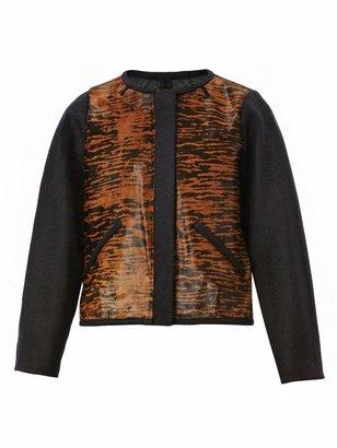 Isabel Marant Bremon ponyhair bomber jacket