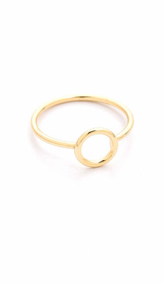 Shashi Circle Ring $27 thestylecure.com