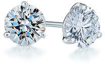Kwiat Women's 0.50Ct Tw Diamond & Platinum Stud Earrings