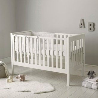 The White Company Classic Cot Bed, White, One Size