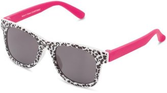 Carter's Hosiery Baby-Girls Newborn Infant Cheetah Wayfarer Sunglasses