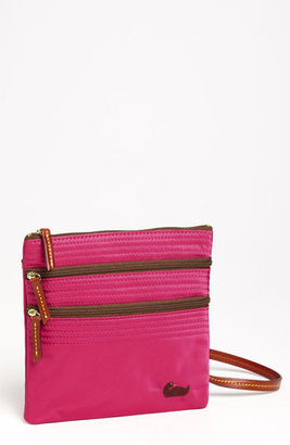 Dooney & Bourke 'Triple Zip' Nylon Crossbody Bag