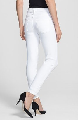 Vince Relaxed Rolled Skinny Jeans (Soft White)